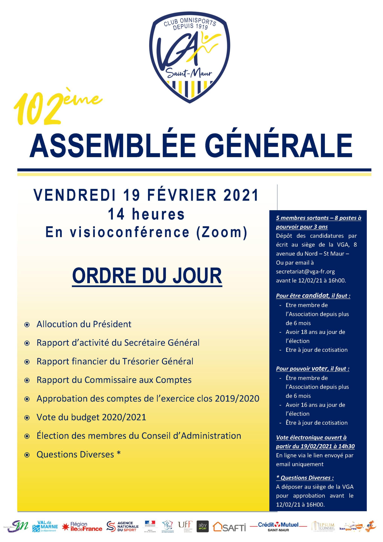 affiche AG VGA 2021
